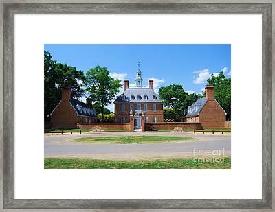 Mansion Framed Print by Eric Liller