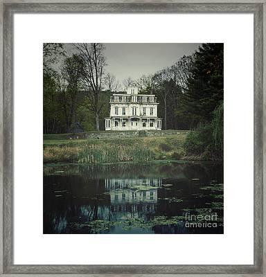 Mansion Reflected At Waterloo Framed Print