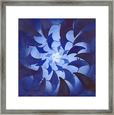 Mantas Framed Print by Catherine G McElroy
