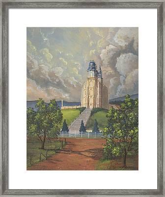 Manti Summer Framed Print by Jeff Brimley