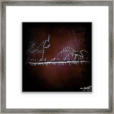 Mantis 23 Framed Print by Ingrid Smith-Johnsen