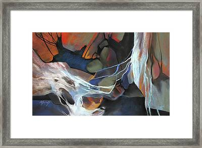 Mantled Epoch Framed Print by Rae Andrews