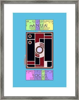 Manual Focus Framed Print by Mal Bray