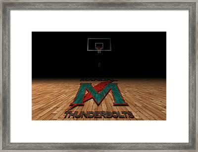 Manual Thunderbolts 5 Framed Print by Joe Hamilton