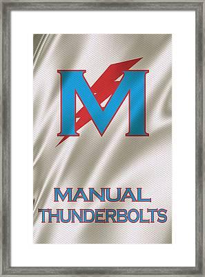 Manual Thunderbolts 6 Framed Print by Joe Hamilton