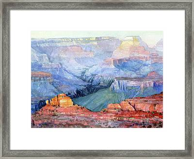 Many Hues Framed Print