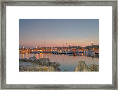 Many Lights Framed Print
