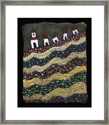 Many Paths Lead To The Top Framed Print