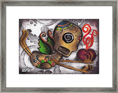 Many Secrets Framed Print by  Abril Andrade Griffith