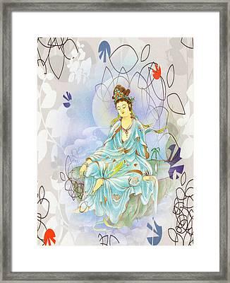 Many Treasures Kuan Yin Framed Print
