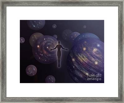 Many Worlds Framed Print by Amyla Silverflame