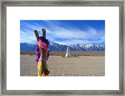 Manzanar Framed Print