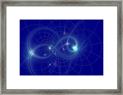 Map Of The Universe Framed Print
