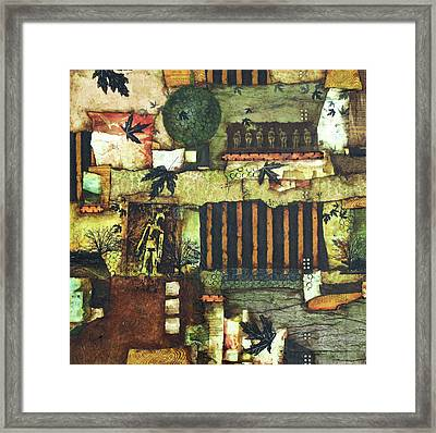 Maple Sugar Moon Framed Print