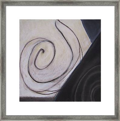 Mapping Framed Print by Carol Reed