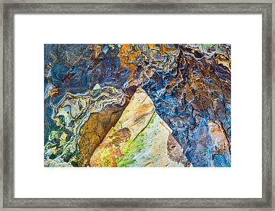 Maps Of Other Planets 4 Framed Print by Alexander Kunz