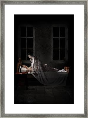 Mara - Mare Framed Print by Andy Renard
