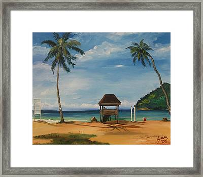 Maracas Bay 2 Framed Print