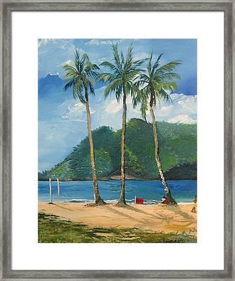 Maracas Bay 3 Framed Print