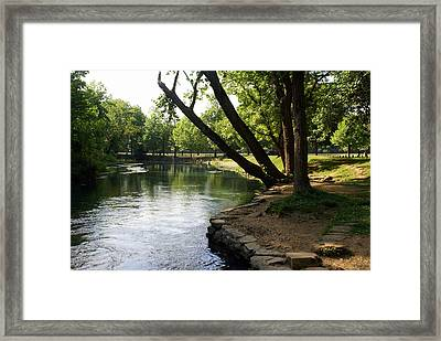 Maramec Springs 5 Framed Print by Marty Koch