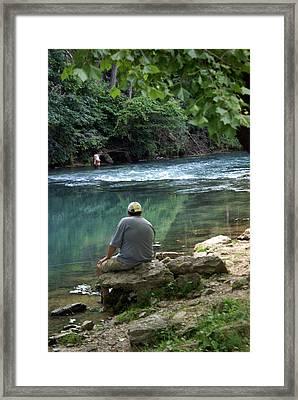 Maramec Springs 6 Framed Print by Marty Koch