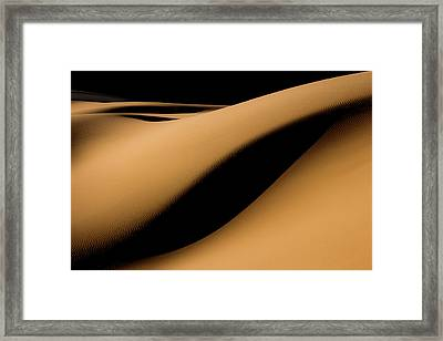 Maranjab Desert Framed Print by Usef Bagheri