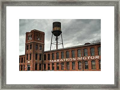 Marathon Motor Cars Company Framed Print