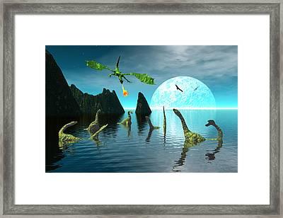 Marauder Framed Print