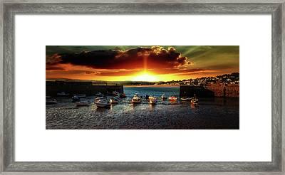 Marazion Cornwall Framed Print