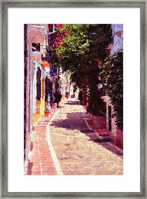 Marbella, Andalusia - 04 Framed Print by Andrea Mazzocchetti