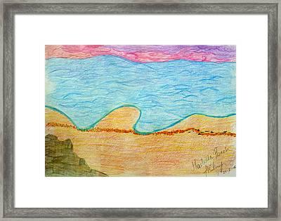 Marbella Beach Framed Print