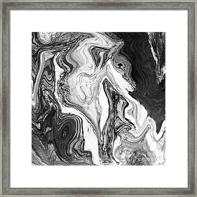 Marble Candy Framed Print