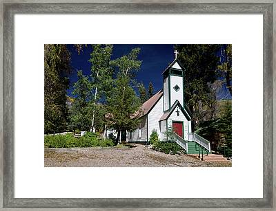 Marble Chapel Framed Print