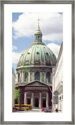 Marble Church Framed Print