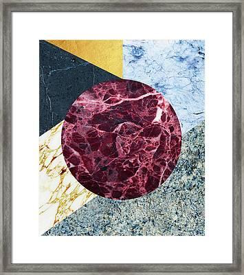 Marble Ecstasy Framed Print by Uma Gokhale