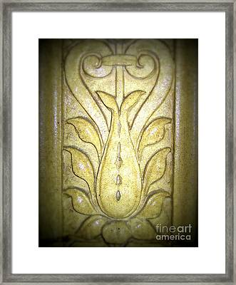 Marble Medallion Pittsburgh, Pa  Framed Print