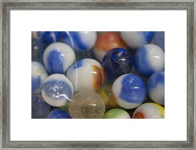 Marble Memories Framed Print