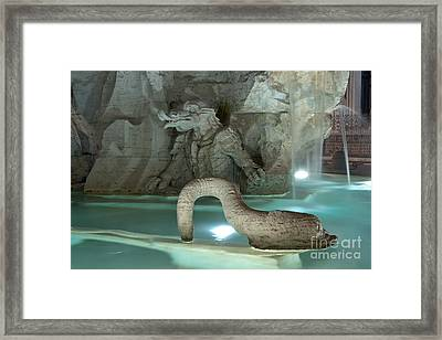 Marble Monsters Framed Print by Fabrizio Ruggeri