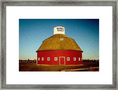 Marble Ranch II Framed Print by Joy McAdams