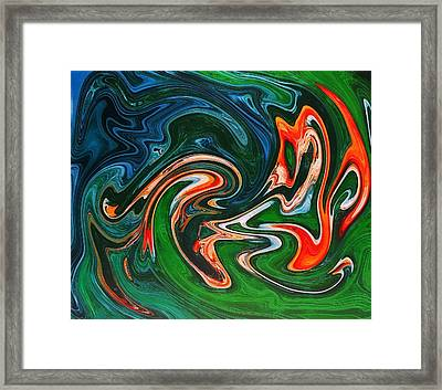 Marble Texture Framed Print