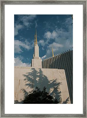 Marble Wall West Side Framed Print