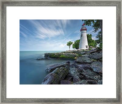 Marblehead Breeze Framed Print by James Dean