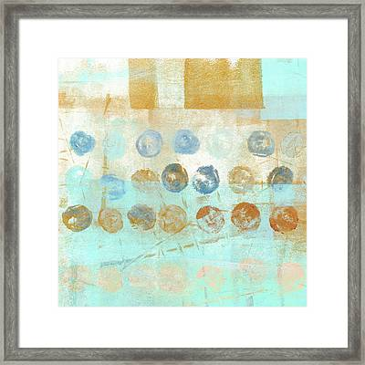 Marbles Found Number 1 Framed Print