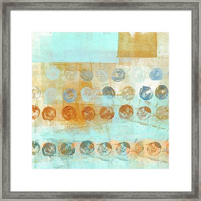 Marbles Found Number 2 Framed Print