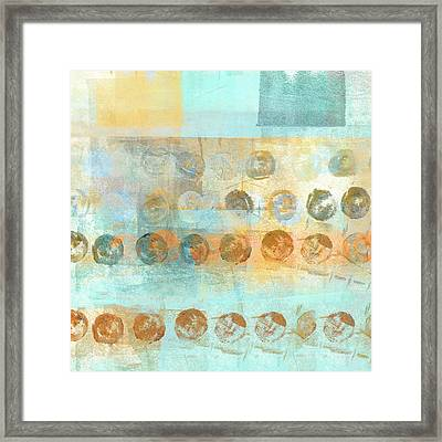 Marbles Found Number 3 Framed Print by Carol Leigh