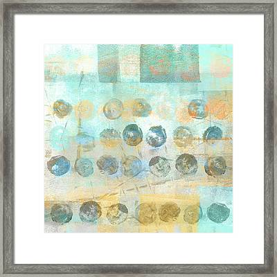 Marbles Found Number 4 Framed Print by Carol Leigh