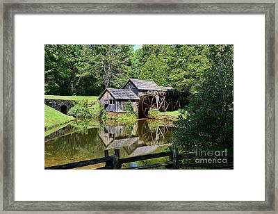 Framed Print featuring the photograph Marby Mill 2 by Paul Ward