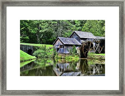 Framed Print featuring the photograph Marby Mill 3 by Paul Ward