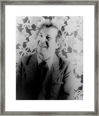 Marc Chagall 1887-1985, Jewish Framed Print
