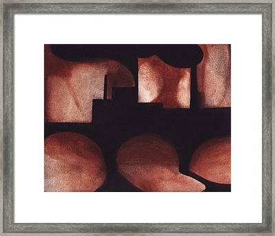 Marcal Abstract Framed Print